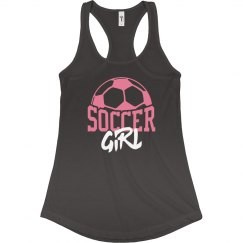 Trendy Soccer Girl