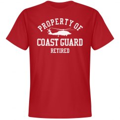 Retired from Coast Guard