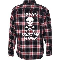 Don't Trust Me Flannel