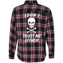 Don't Trust Me Flannel
