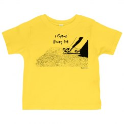 I Support Pulling Out - Toddler - Jersey Tee