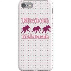 Pink Elephant iPhone Case