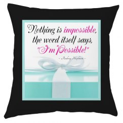 Audrey Impossible Quote