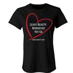 Leave Beauty (Black Tee)