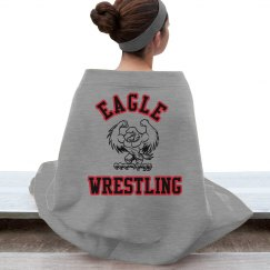 Wrestling stadium blanket