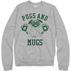 St Paddy's Pugs And Mugs