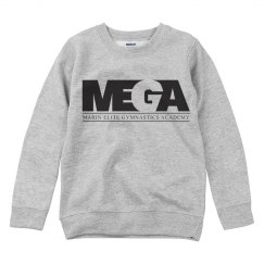 Youth Crewneck w/ Black Logo