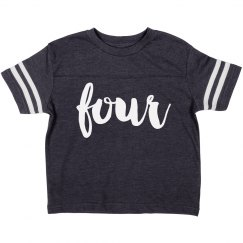 I'm Four Birthday Shirt