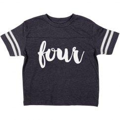 I'm Four Birthday Shirt