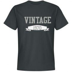 Unisex Vintage