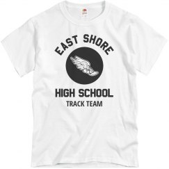 Custom High School Track Team