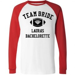 Team Bride Football Bachelorette