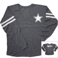 Cowboys long sleeve shirt.