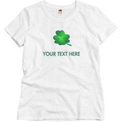 Lucky Clover and your text