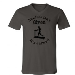 Man on Treadmill Success Shirt