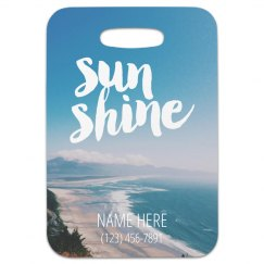 Summer Vibes Travel Tag