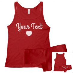 Custom Valentine's Day Intimates Set