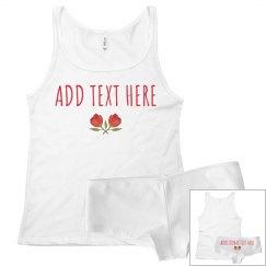 Personalized Valentine's Pajama Set