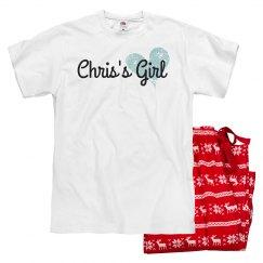 Custom Valentine's Pajama Set