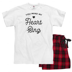 Make My Heart Sing Valentine's Pajama