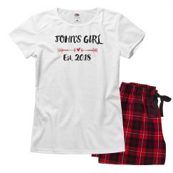 Custom Pajamas For Valentine's