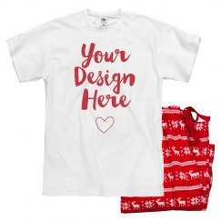 Personalized Design Valentine PJs