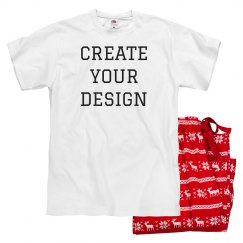 Create Your Own Valentine's Pajamas