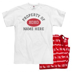 Property Of XOXO Custom Name