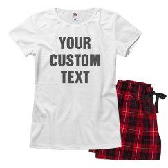 Custom Pajamas For Valentine's Day