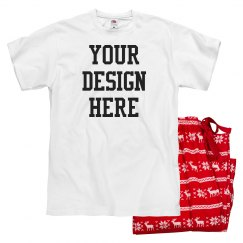 Add Your Design Custom Pajamas