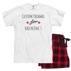 Custom Pajama's For Valentine's