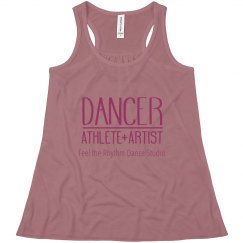 Youth Flowy Dancer Racerback Tank