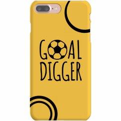 Soccer Phone Case Yellow