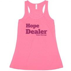 Hope Dealer Tank Flow Block Letters