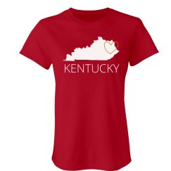 Custom Kentucky Heart