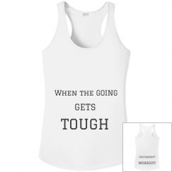 TOUGHAGERS™ WORKOUT tank
