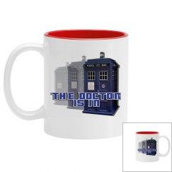The Doctor Police Box Mug