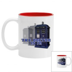 The Doctor Police Box Mug
