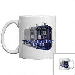 The Doctor Police Box Mug 2