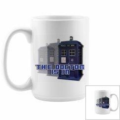 The Doctor Police Box Mug 3
