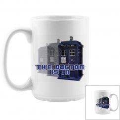 The Doctor Police Box Mug 3