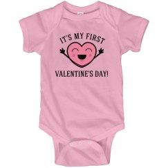 First Valentines Baby
