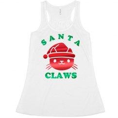 Metallic Santa Claws Christmas