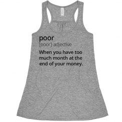Poor Definition