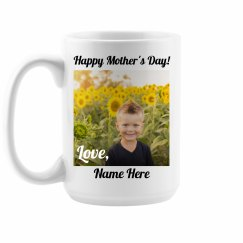 Custom Mother's Day Photo Mug
