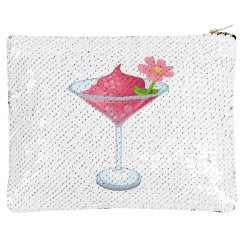Tropical Pink Cocktail