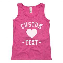 Create your Custom Design Girls Tank
