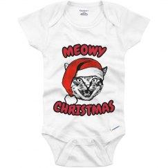 Meowy Christmas Onesie