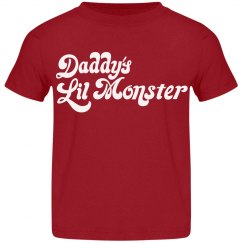 Daddy's Lil Monster Toddler Tee