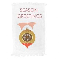 Seasons Greetings Towel
